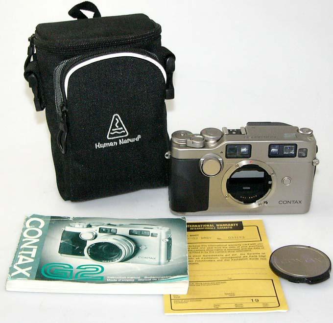 Contax-G2-Nr-033193-Anleitung-Tasche